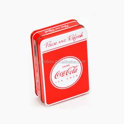 Particular New Design High Quality Business Card Tin Box