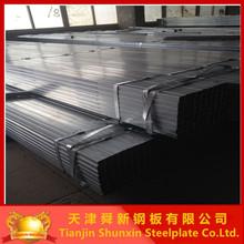 ASTM A53 GR.B GI rectangular steel pipe