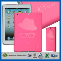 C&T Custom fancy new design plastic case back cover for ipad pro
