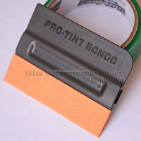 high quality vinyl wrap application tool pro-tint vinyl squeegee with suede edge