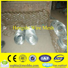 low carbon iron hot dipped galvanized woven wire