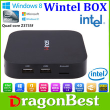 Vensmile W8 MINI PC CX-W8 Wintel 2GB RAM 32GB Win8.1 OS Intel TV BOX Quad Core 1.33Ghz CPU mini computer Intel HD