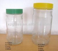150 ml Glass Jars Plastic Seal Lids GJ 137