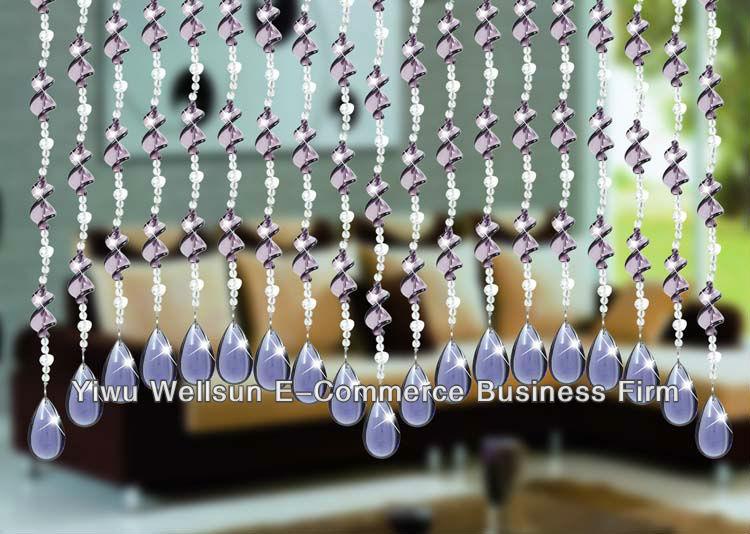 Hecho a mano de cristal cortinas de cristal material for Decoracion del hogar hecho a mano