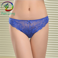 Women panties sexy thong Women lace v-string briefs for young girls