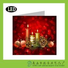 illuminated postcard