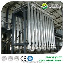 Bio diesel generator biodiesel machine producing fatty acid methyl ester