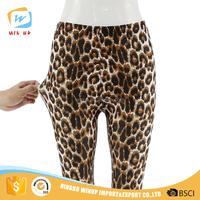 Fashion leopard printed women lady sex leggings tight pants