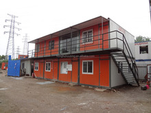 home decor container house /prefab container cabins /portable office containers