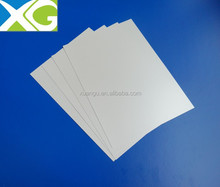 silver rigid super clear inkjetable lamination rigid supplier of film pvc