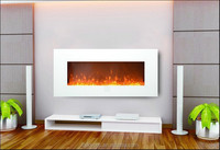 G-02 decor flame electric fireplace home heater with control board