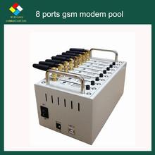 SF-LINK Wavecom 3G GSM modem Compatible with Kannel software 8 sim card multi-port 3g
