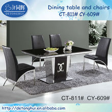 granite table and chair modern for restaurant CT811
