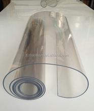 Super clear transparent soft pvc sheet FOB TIANJIN 15XXUSD/TON