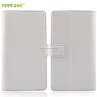 For universal smart phone wallet style leather case