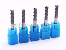 Tungsten carbide brazed dovetail end mill cutter in milling cutter