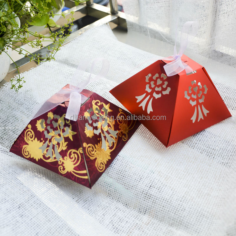 Indian Wedding Gift Boxes For Sale : Hot sale pyramid shape indian wedding cake boxes, View indian weddign ...