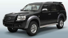 Ford Everest Armored Vehicle
