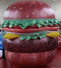 promotional inflatable, advertising inflatable, inflatable cartoon hamburger