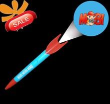 2015 factroy direct sale promotional gifts metal LED ball pen, hot sale pen light