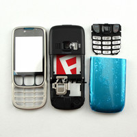 New Full Phone Housing Cover Case+English / Russian Keypad for Nokia 6303c 6303 classic 6303ci 6303i classic