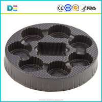 plastic cookie trays, brown, put candy, chocolate, cookies/Custom Large Hard Plastic Vacuum Forming Tray