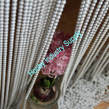 Pure White Metal Bead String Curtain