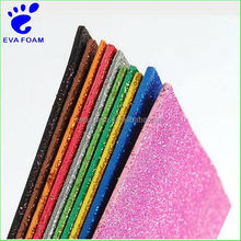 Customized hot sell brushing eva foam sheet