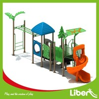 Liben Commercial Used Children Outdoor Plastic Playground Equipment for Sale LE.X9.503.031.00