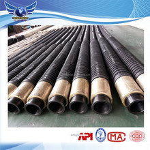 Steel wires and Fabric/ used concrete pump rubber hose