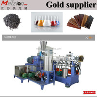 PP PE TPR ABS PS PA Recycled Pellets/twin screw extruder machinery price/washing machines and dryer
