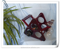 painted high quality wood cup holder