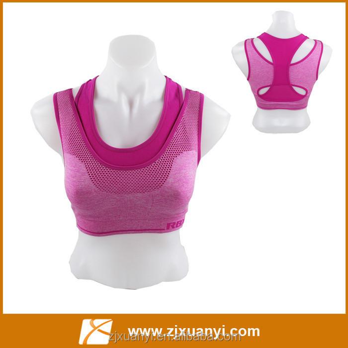 ผู้หญิงที่เซ็กซี่ร้อนชุดชั้นในกีฬาออกกำลังกายออกกำลังกายชุดชั้นในขายส่งชุดชั้นในโยคะ2ขนาด4สี
