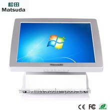 free window 7 system15 inch supermarket touch all in one pos computer