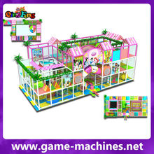 Qingfeng hot sale kids play area popular kids gym equipments children commercial indoor playground equipment