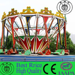 2015 Best Quality Cheapest Amusement Rotating Rides Super Swing Chair rides