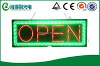 Hot sale high brightness indoor hidly acrylic led open sign