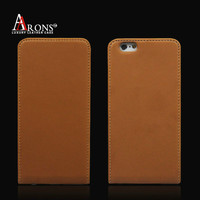 High quality flip leather case cover water proof phone case for iphone 6