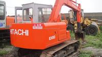 Cheap mini crawler excavator/Second hand crawler excavator Hitachi EX60 for sale/ hot sale used construction machine