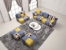 New Arrival!Fabric sectional sofa,modern sofa with narrow arms/G8029