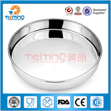 wholesale Metal serving trays stainless steel serving trays set