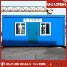 corrosion resistance seismic safety ablution unit modular house