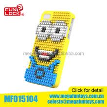 Minions IPhone 5S phone case Diamond blocks toys