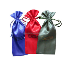 1st class quality promotional custom satin gift pouch