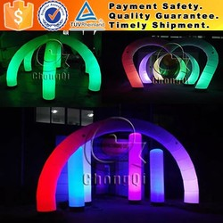Fashion inflatable arch inflatable lighting arch christmas light arch