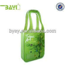 Girls laminated nonwoven plain tote bags decorating