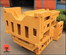Customized high quality gray iron cast boring machine bed in USA-AWS grade 30/35/45/50 for exporting