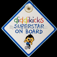 superstar on board window sign for decor (M-CS048)