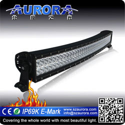 NEW factory direct sell curved light 40 inch dual row led light bar off road
