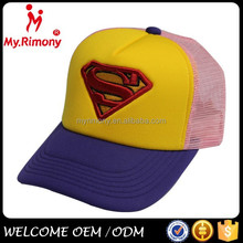 2014 New arrival trucker mesh foam cap with 3D embroidery logo